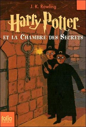 Harry Potter et la chambre des secrets de J.K.Rowling.